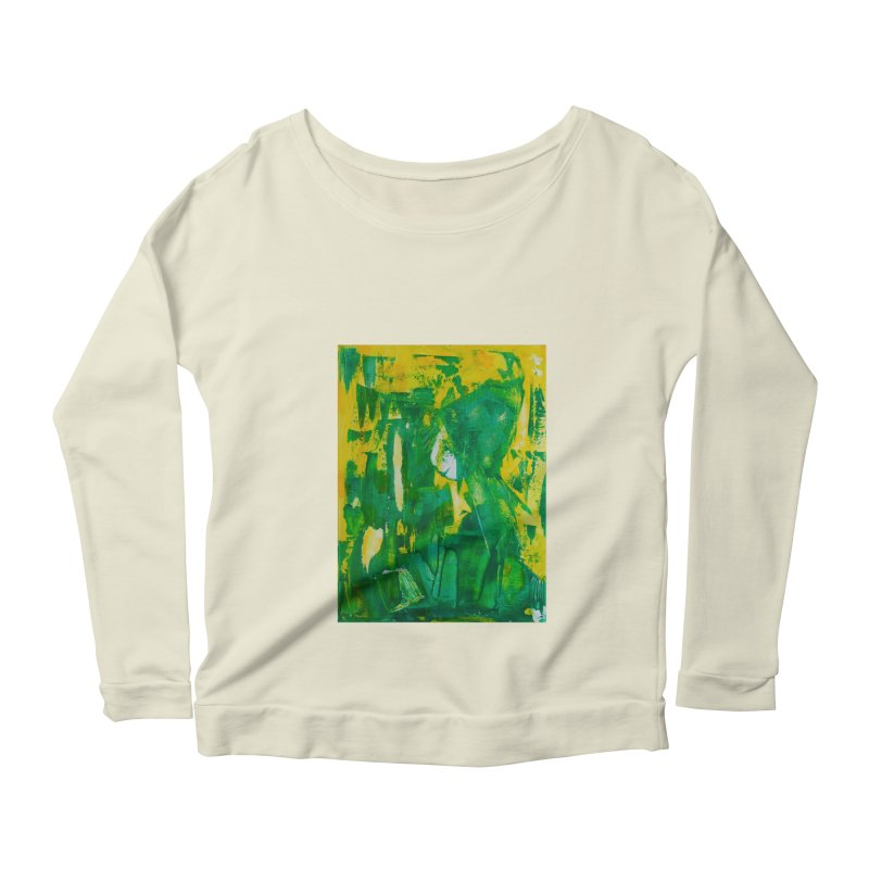 Lady Elf Women's Longsleeve Scoopneck  by Luskay Art Shop