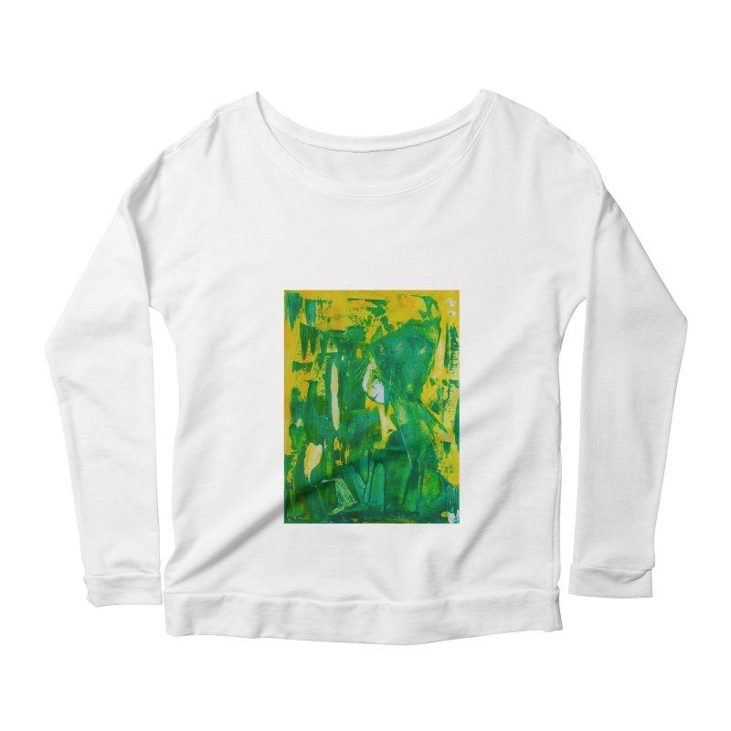 Lady Elf Women's Scoop Neck Longsleeve T-Shirt by Luskay Art Shop