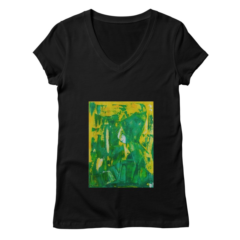Lady Elf Women's Regular V-Neck by Luskay Art Shop
