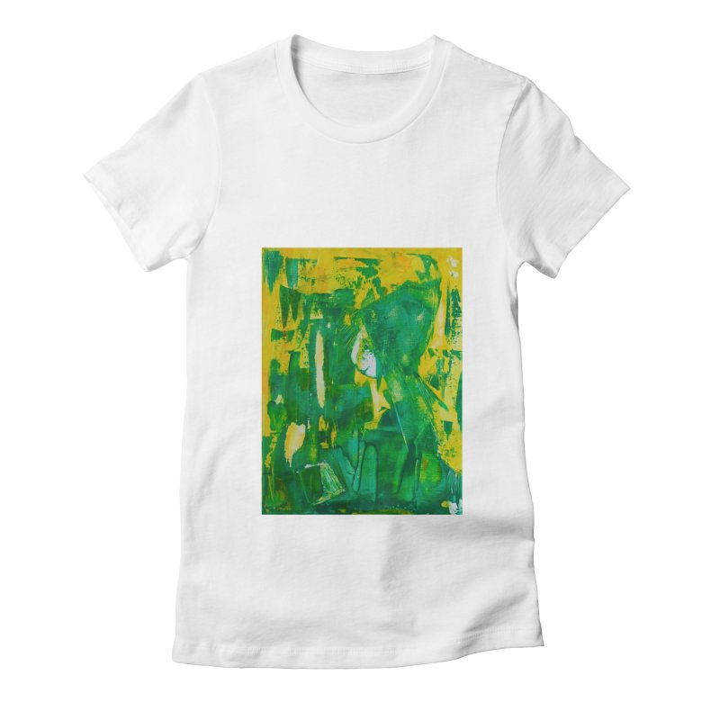 Lady Elf Women's Fitted T-Shirt by Luskay Art Shop