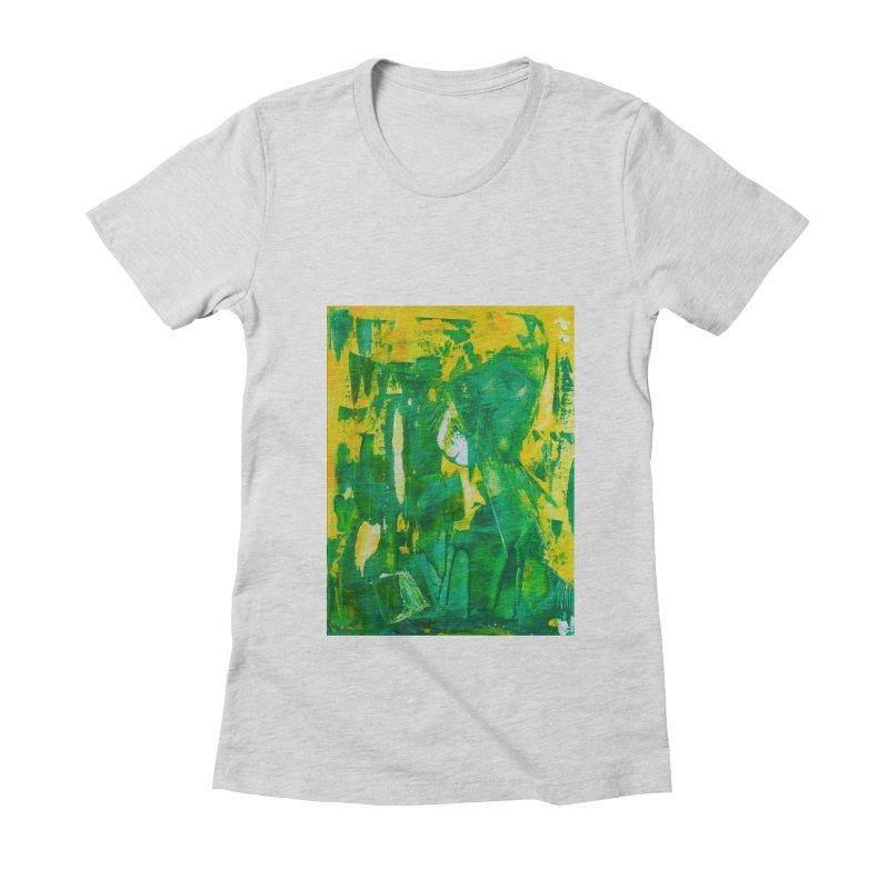 Lady Elf Women's Fitted T-Shirt by Luskay Art Shop