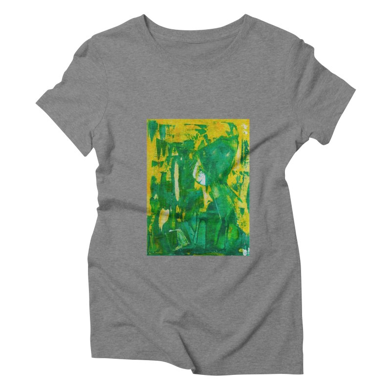 Lady Elf Women's Triblend T-Shirt by Luskay Art Shop