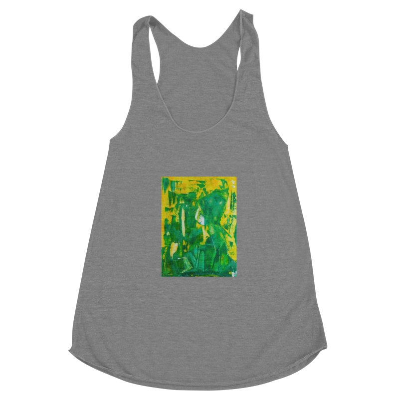 Lady Elf Women's Racerback Triblend Tank by Luskay Art Shop