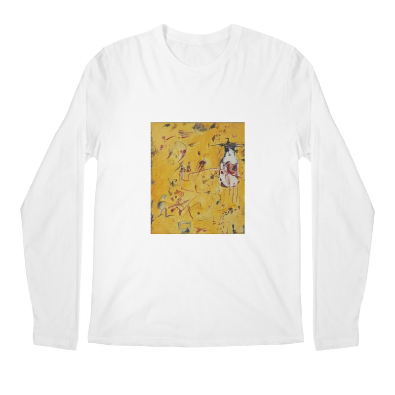 Milk Bottle Men's Longsleeve T-Shirt by Luskay Art Shop