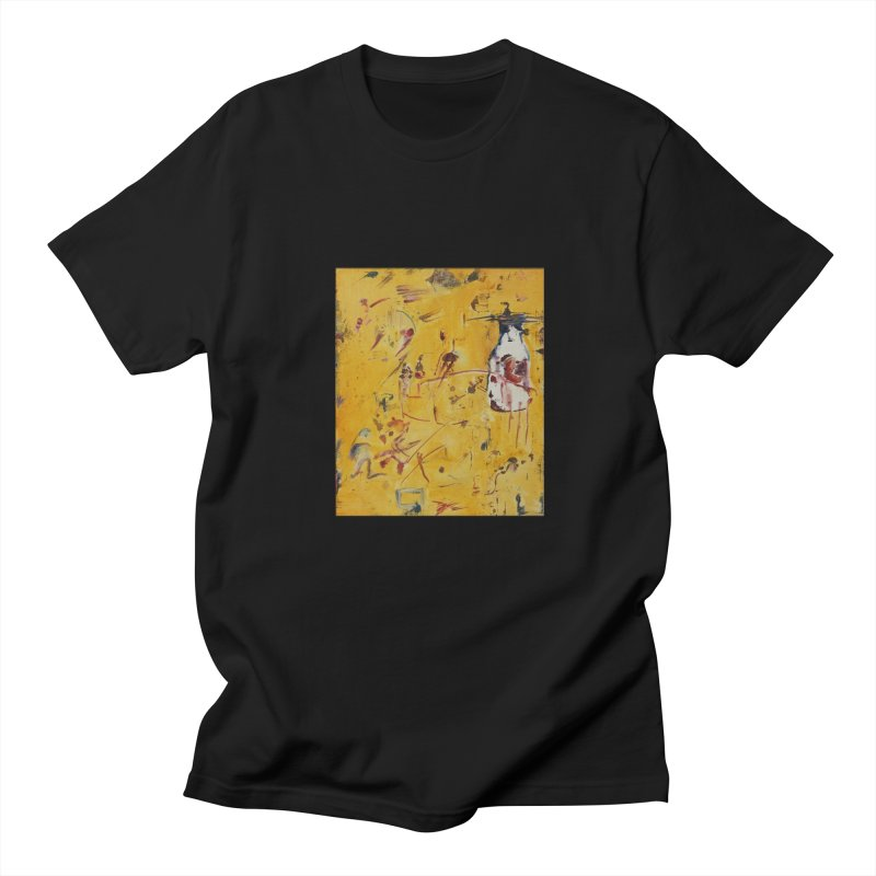 Milk Bottle Men's T-shirt by Luskay Art Shop