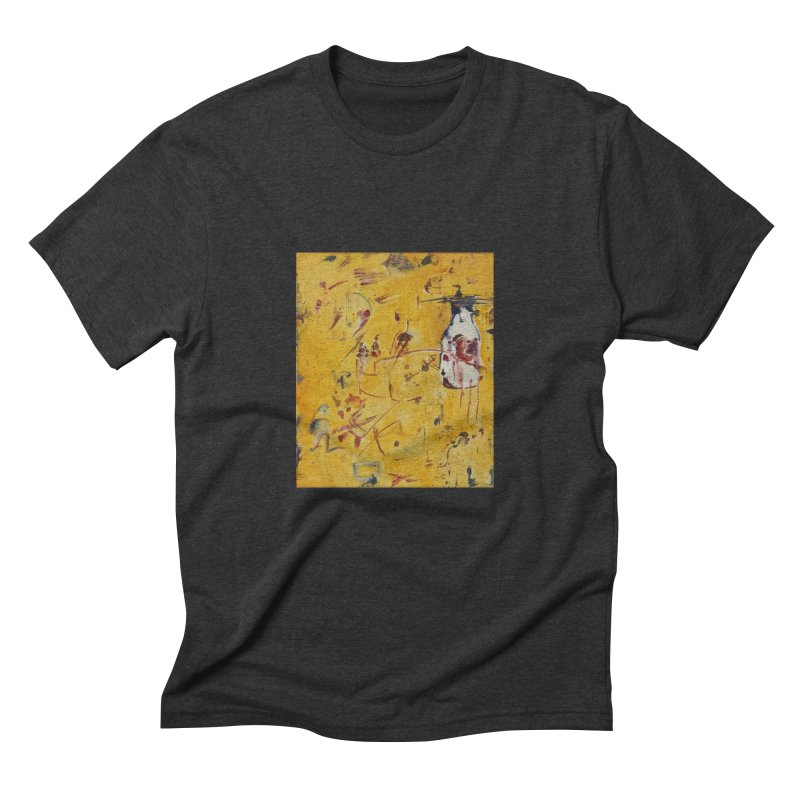 Milk Bottle Men's Triblend T-shirt by Luskay Art Shop