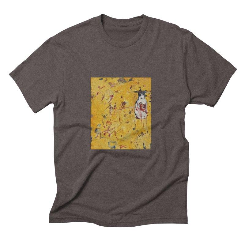 Milk Bottle Men's Triblend T-Shirt by Luskay Art Shop
