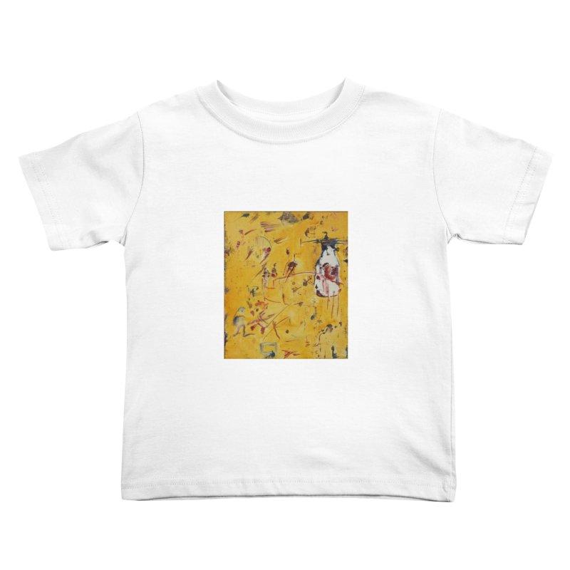 Milk Bottle Kids Toddler T-Shirt by Luskay Art Shop