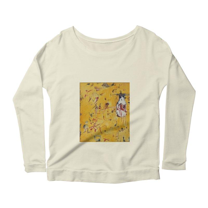 Milk Bottle Women's Scoop Neck Longsleeve T-Shirt by Luskay Art Shop