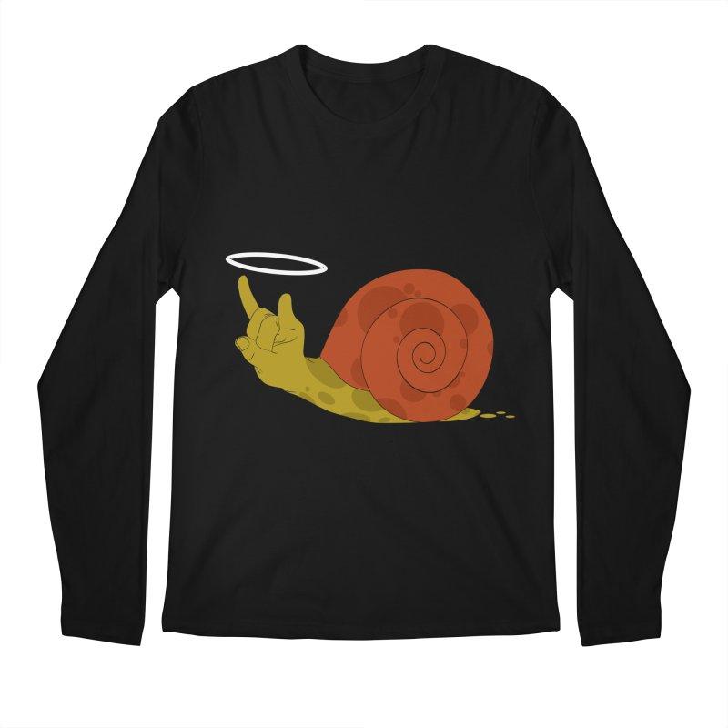 SLOW ROCK Men's Longsleeve T-Shirt by luwes's Artist Shop