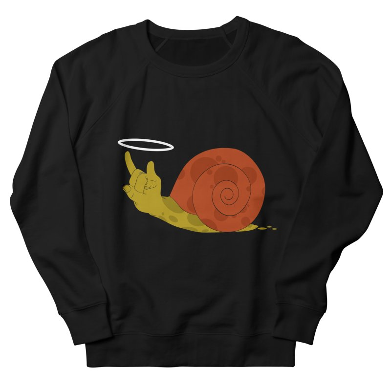 SLOW ROCK Men's Sweatshirt by luwes's Artist Shop