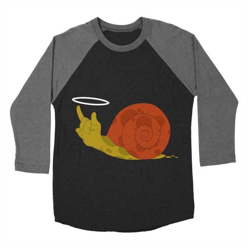 SLOW ROCK Men's Baseball Triblend T-Shirt by luwes's Artist Shop