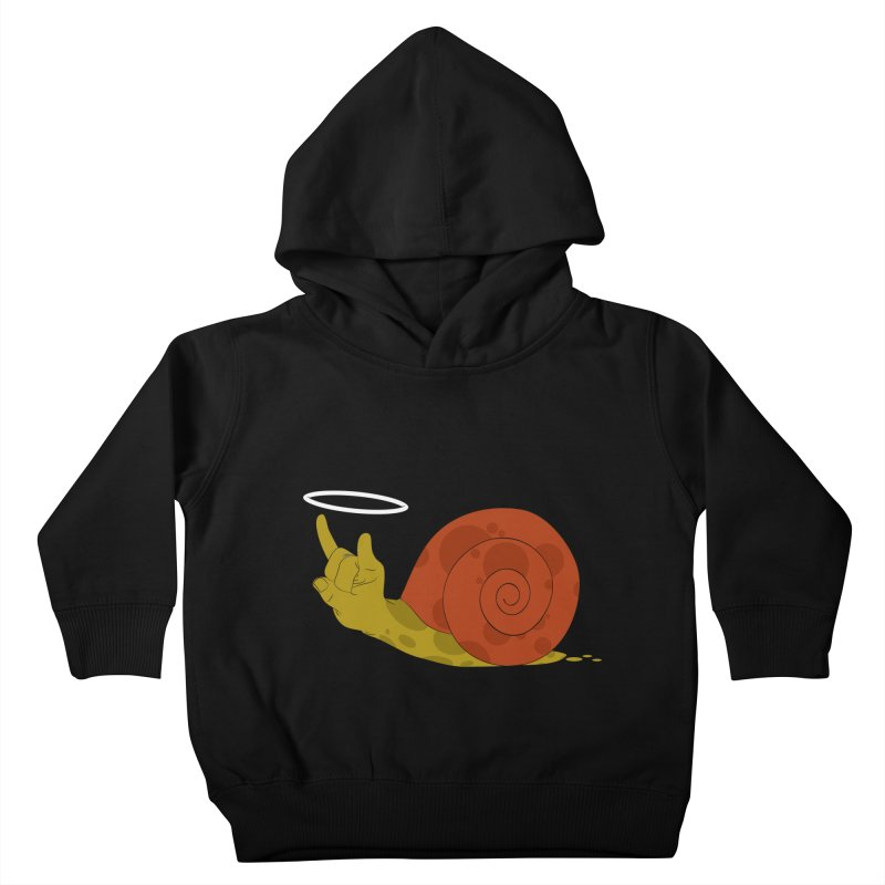 SLOW ROCK Kids Toddler Pullover Hoody by luwes's Artist Shop