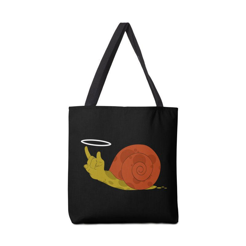 SLOW ROCK Accessories Bag by luwes's Artist Shop
