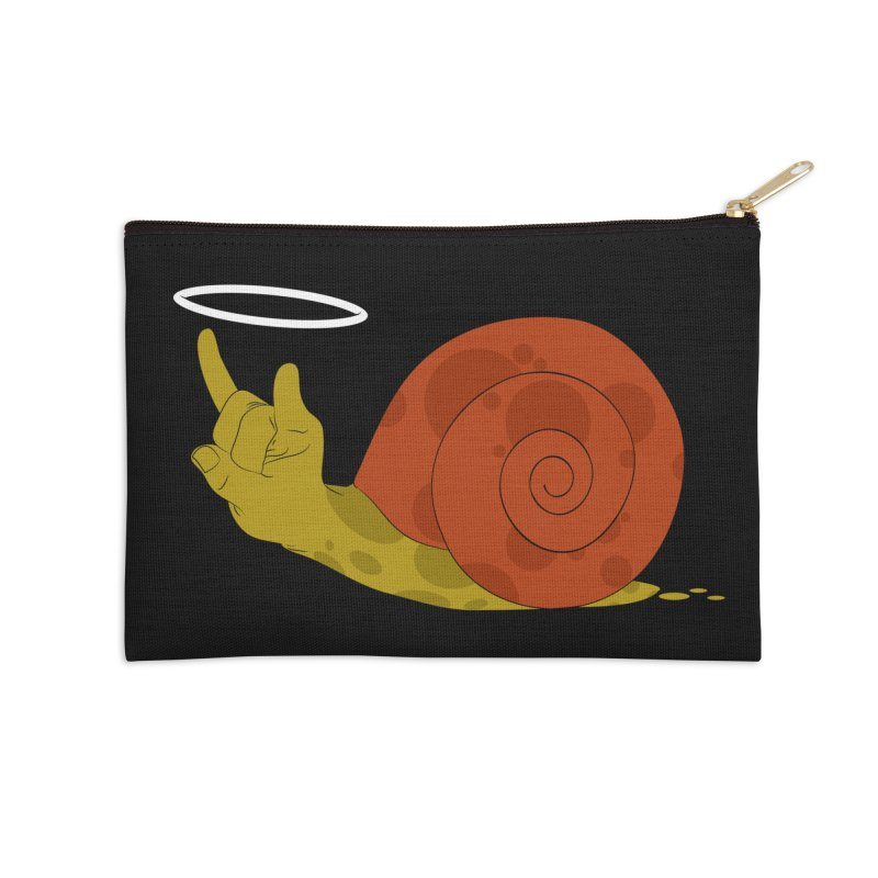 SLOW ROCK Accessories Zip Pouch by luwes's Artist Shop