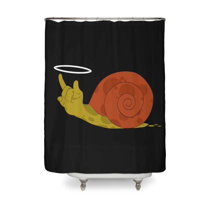 SLOW ROCK Home Shower Curtain by luwes's Artist Shop