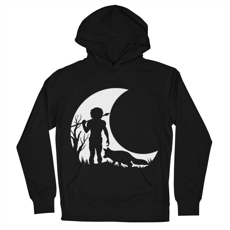 Half moon Men's Pullover Hoody by luwes's Artist Shop