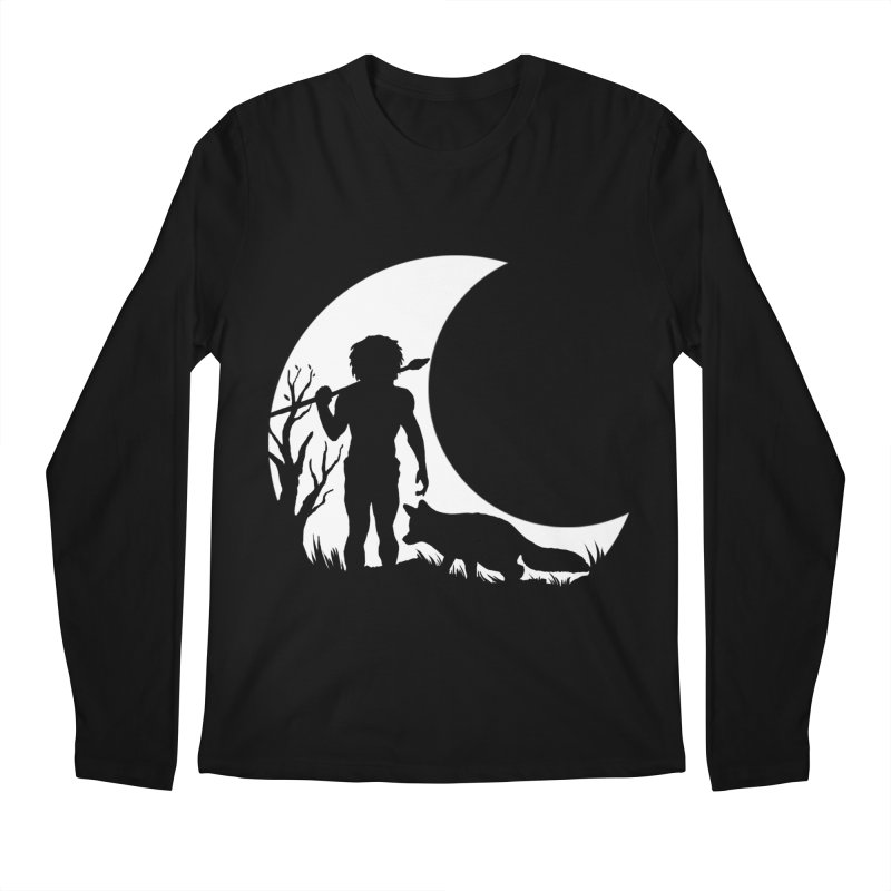 Half moon Men's Longsleeve T-Shirt by luwes's Artist Shop