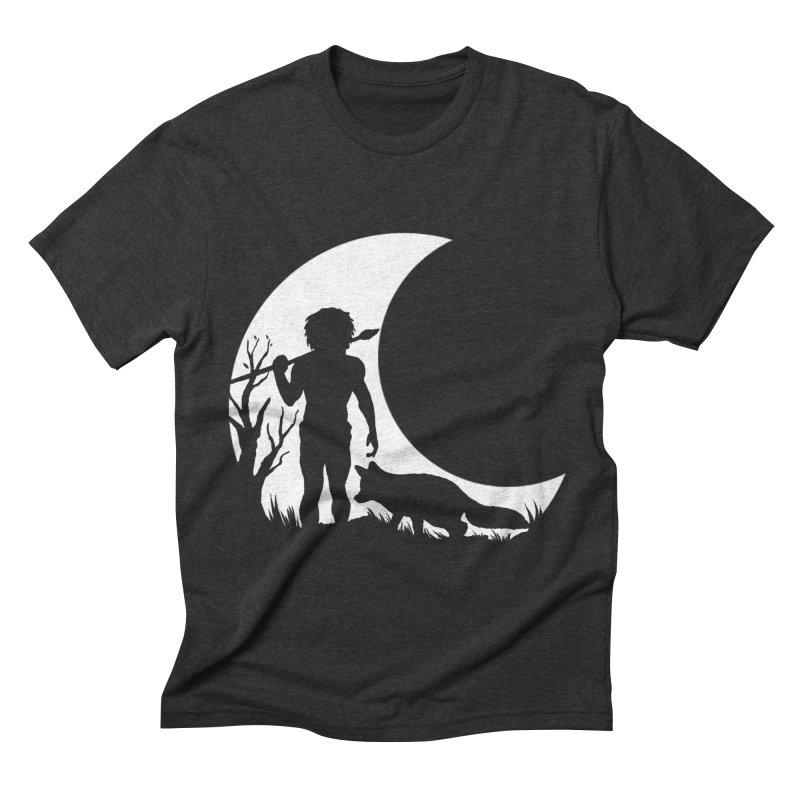 Half moon Men's Triblend T-shirt by luwes's Artist Shop