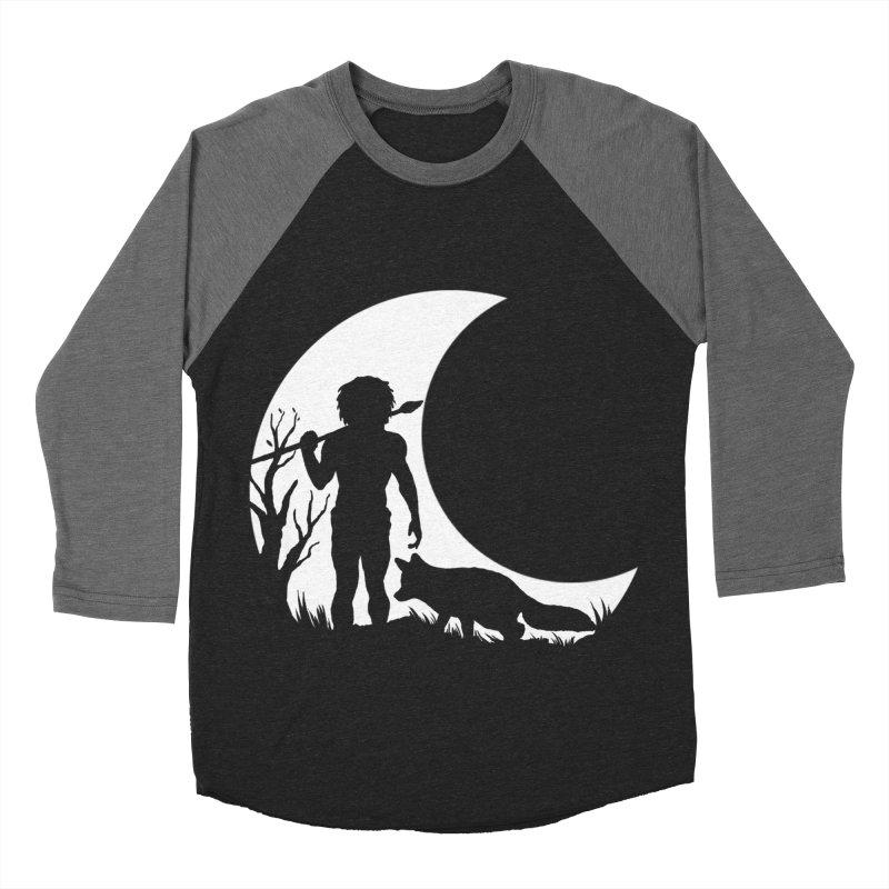 Half moon Men's Baseball Triblend T-Shirt by luwes's Artist Shop