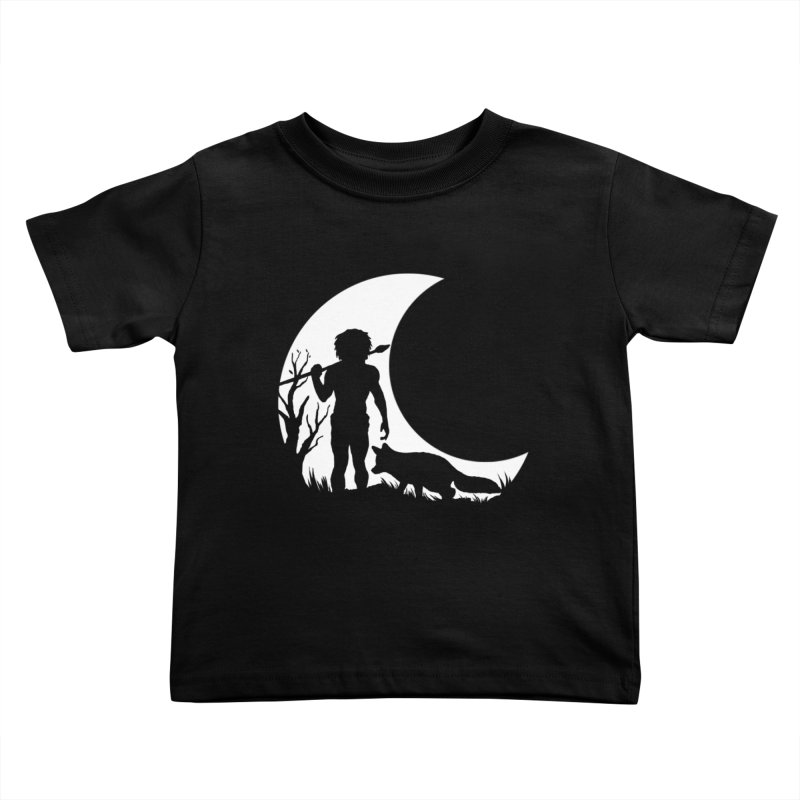 Half moon Kids Toddler T-Shirt by luwes's Artist Shop