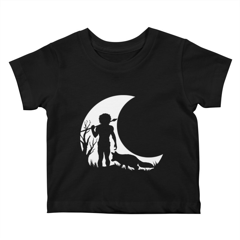 Half moon Kids Baby T-Shirt by luwes's Artist Shop