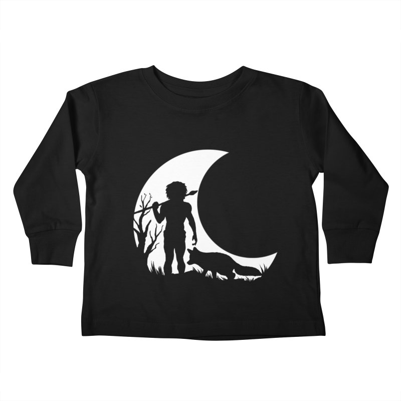 Half moon Kids Toddler Longsleeve T-Shirt by luwes's Artist Shop