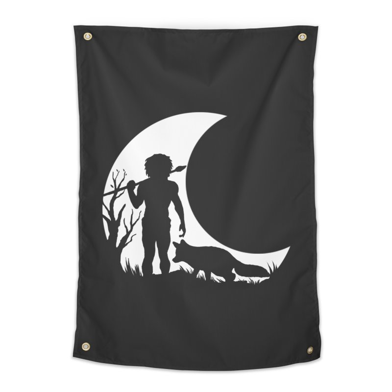 Half moon Home Tapestry by luwes's Artist Shop