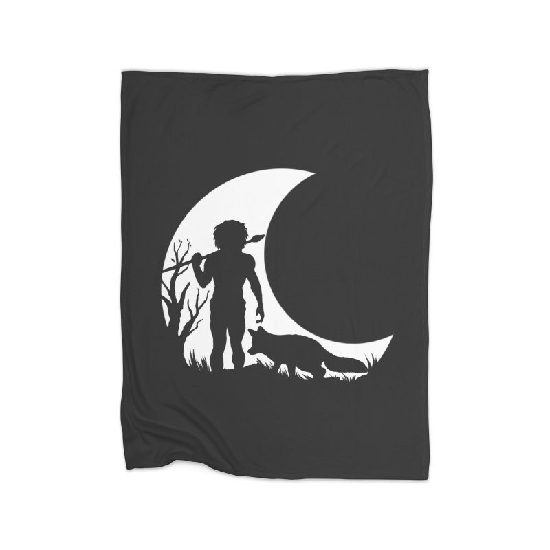 Half moon Home Blanket by luwes's Artist Shop