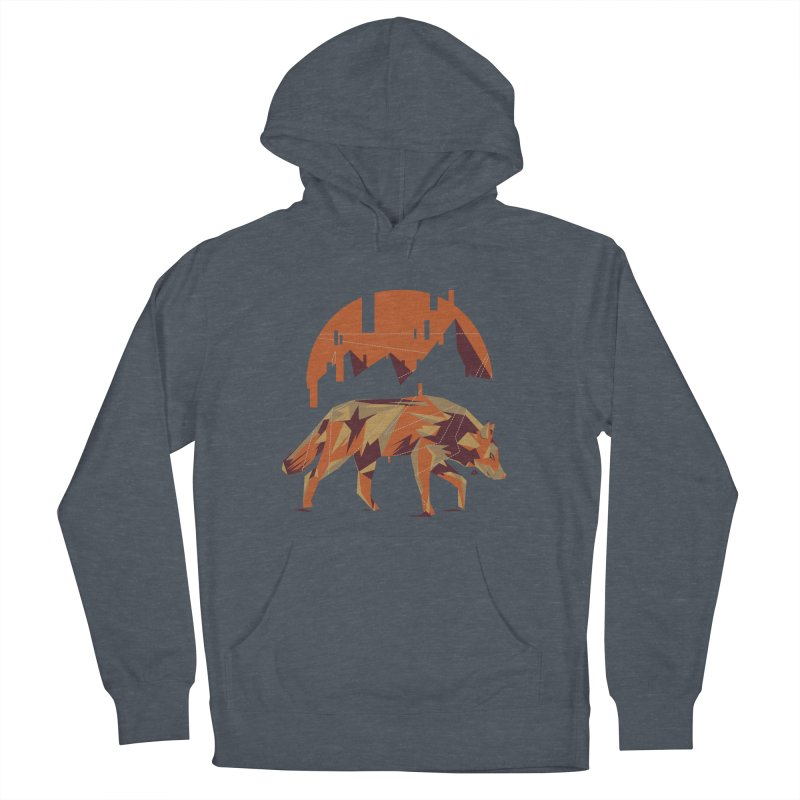 BEHIND THE CUBE Men's Pullover Hoody by luwes's Artist Shop