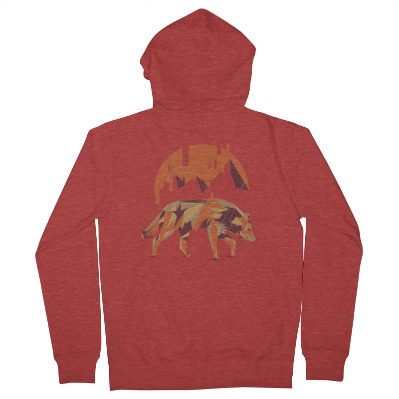 BEHIND THE CUBE Men's Zip-Up Hoody by luwes's Artist Shop