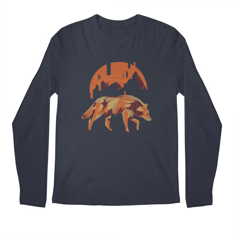 BEHIND THE CUBE Men's Longsleeve T-Shirt by luwes's Artist Shop