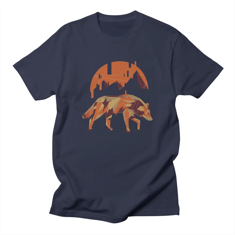 BEHIND THE CUBE Men's T-shirt by luwes's Artist Shop