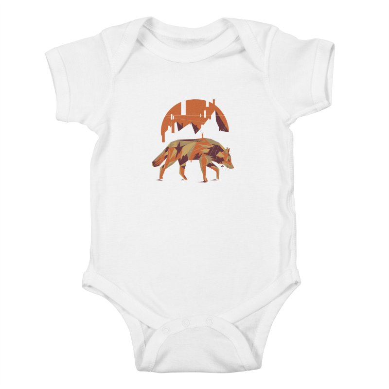 BEHIND THE CUBE Kids Baby Bodysuit by luwes's Artist Shop