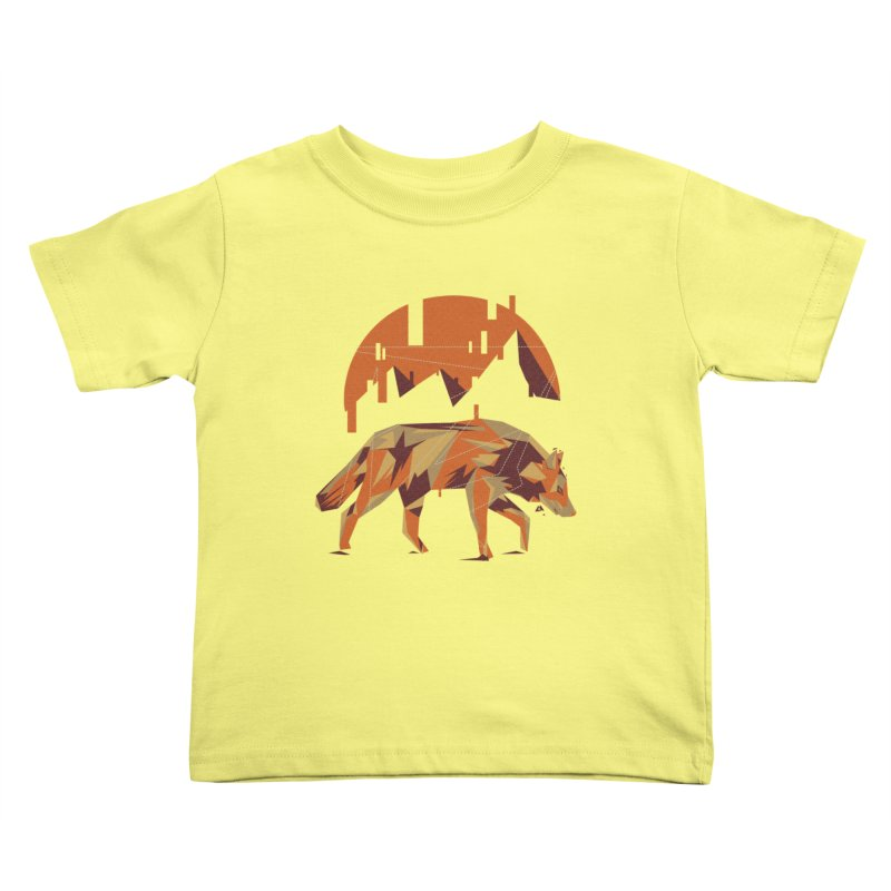 BEHIND THE CUBE Kids Toddler T-Shirt by luwes's Artist Shop