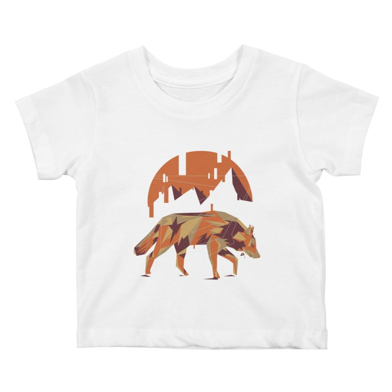 BEHIND THE CUBE Kids Baby T-Shirt by luwes's Artist Shop