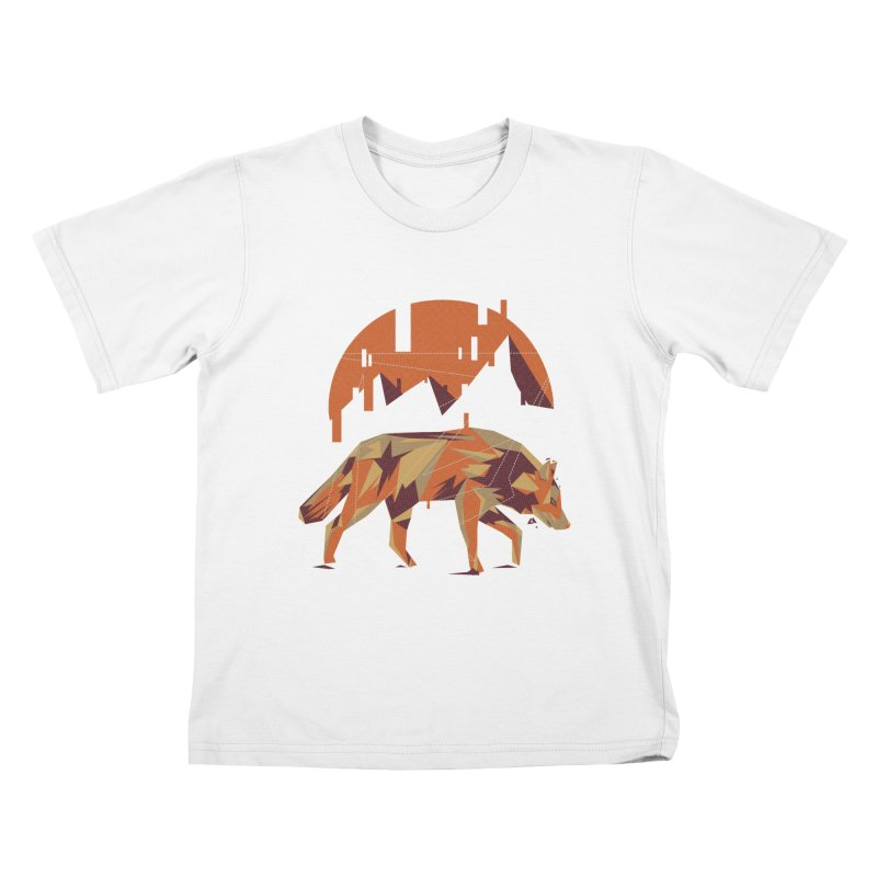 BEHIND THE CUBE Kids T-Shirt by luwes's Artist Shop