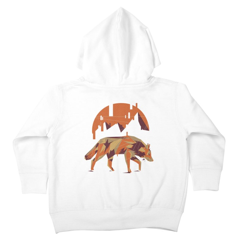 BEHIND THE CUBE Kids Toddler Zip-Up Hoody by luwes's Artist Shop