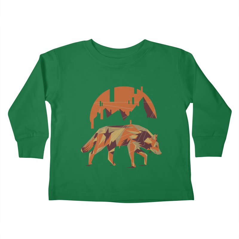 BEHIND THE CUBE Kids Toddler Longsleeve T-Shirt by luwes's Artist Shop
