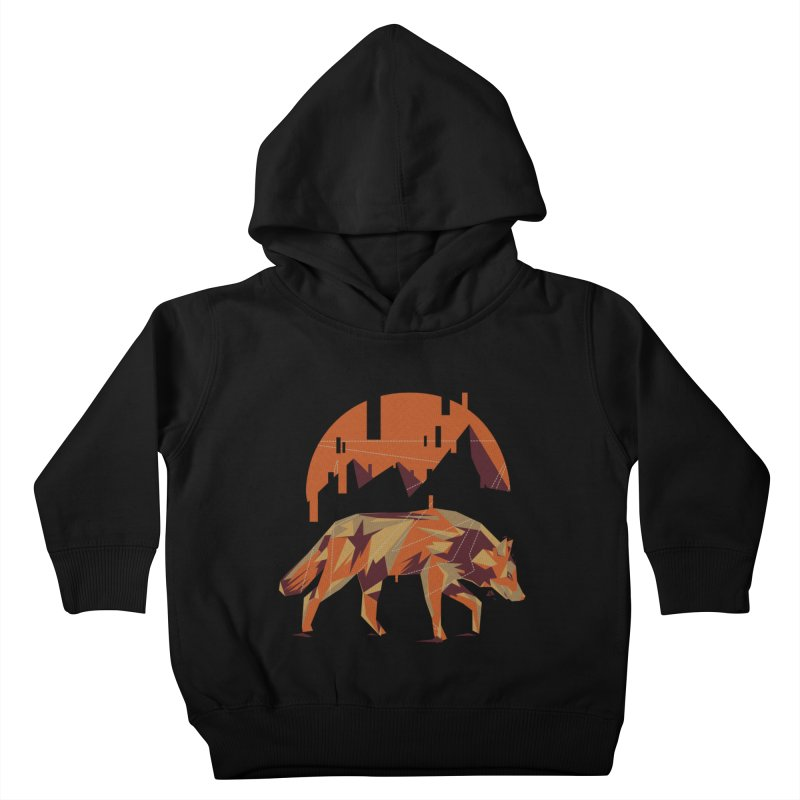 BEHIND THE CUBE Kids Toddler Pullover Hoody by luwes's Artist Shop