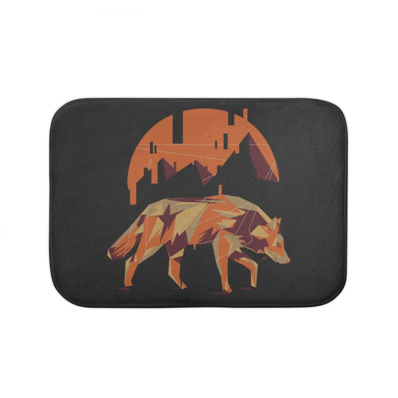 BEHIND THE CUBE Home Bath Mat by luwes's Artist Shop