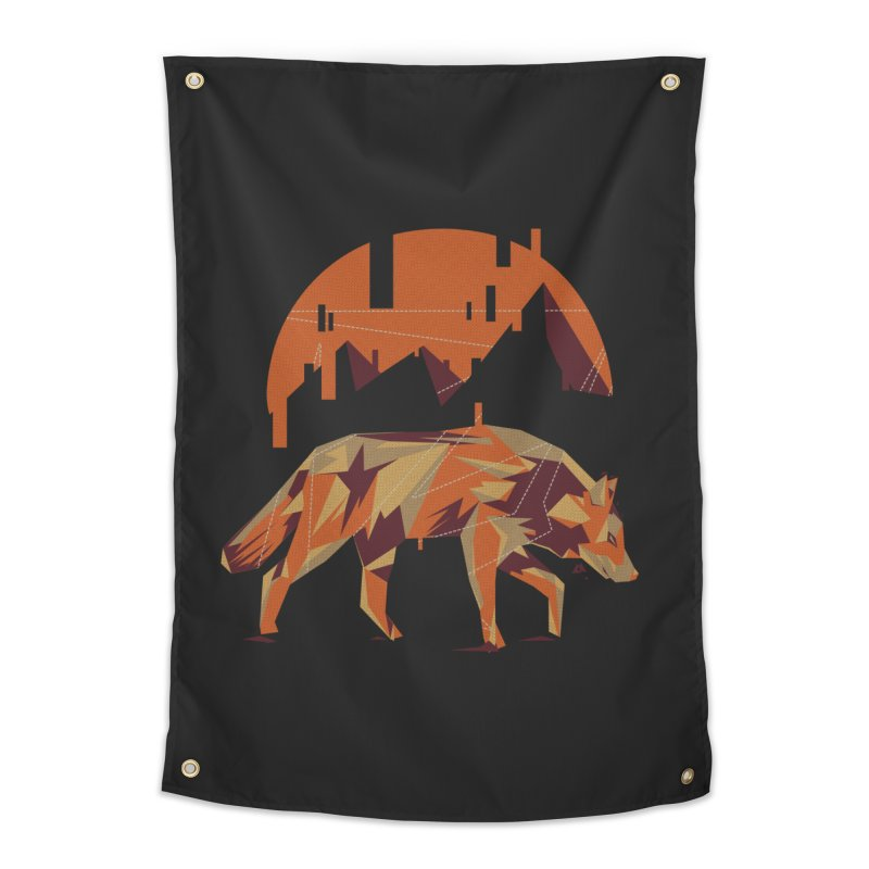 BEHIND THE CUBE Home Tapestry by luwes's Artist Shop