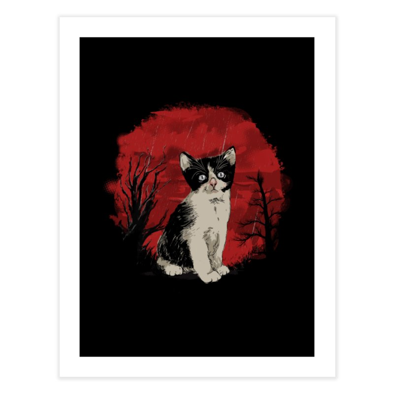 CATTY Home Fine Art Print by luwes's Artist Shop