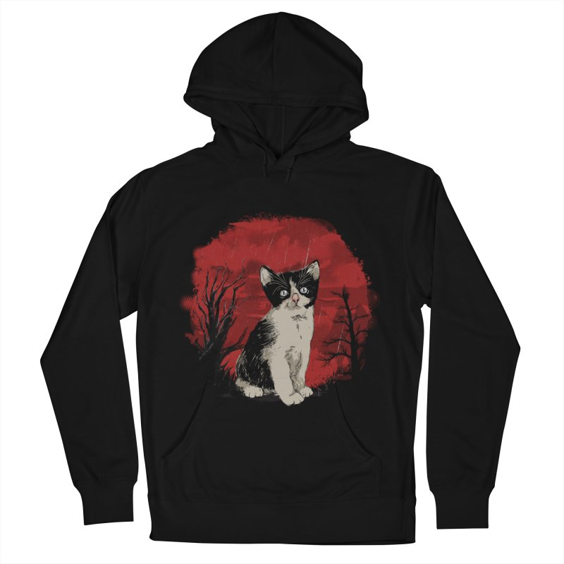 CATTY Women's Pullover Hoody by luwes's Artist Shop
