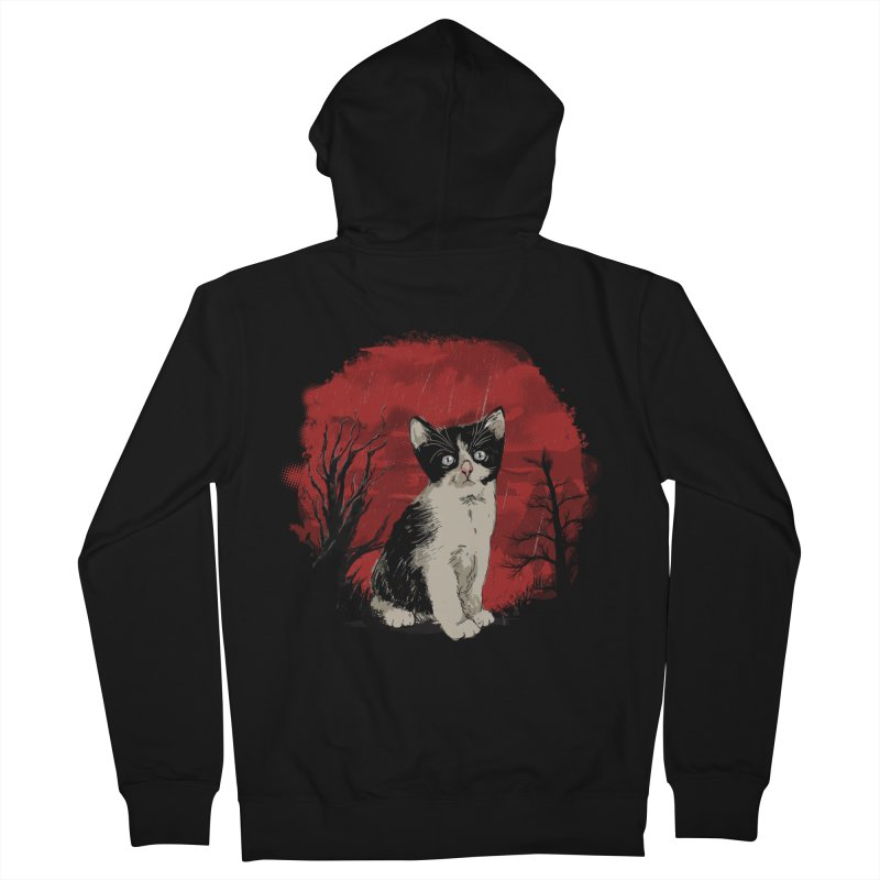 CATTY Men's Zip-Up Hoody by luwes's Artist Shop