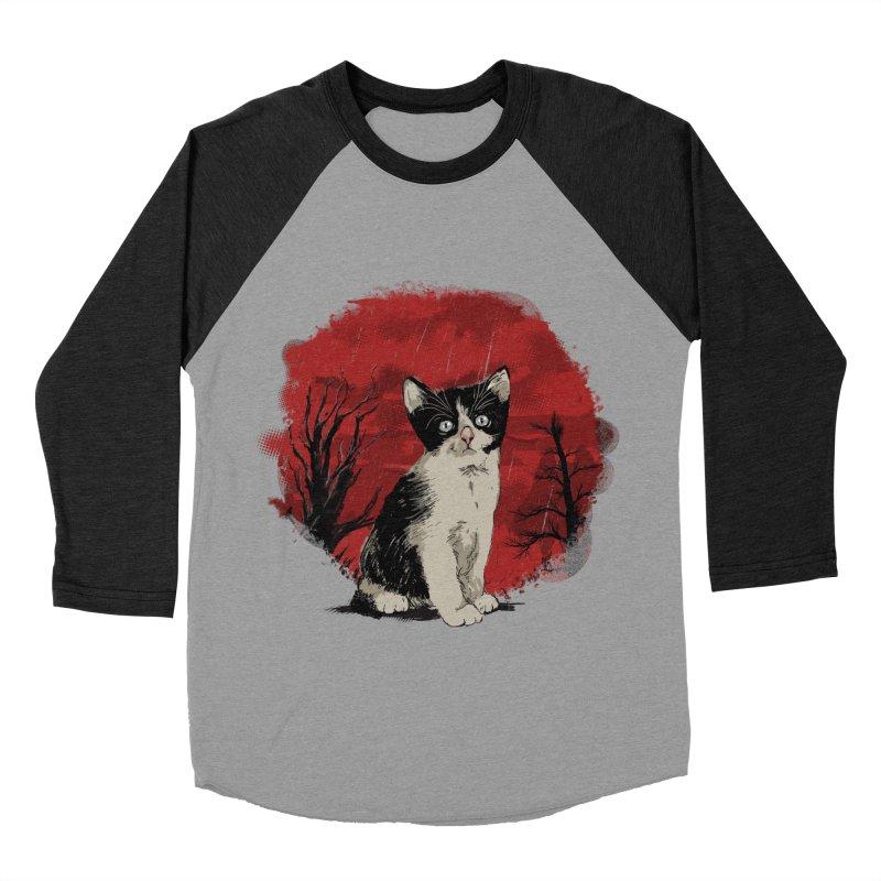 CATTY Women's Baseball Triblend T-Shirt by luwes's Artist Shop