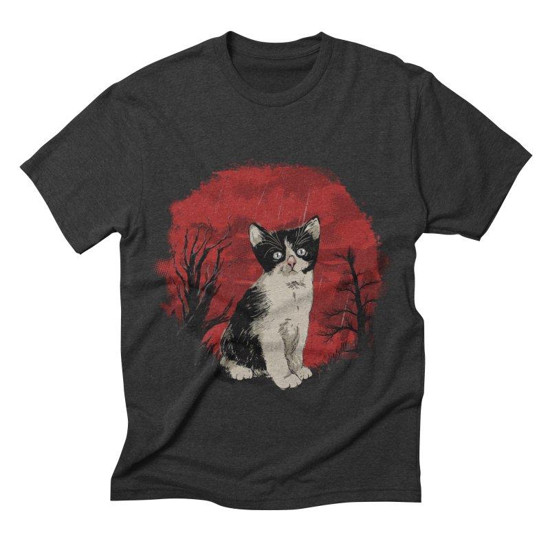 CATTY Men's Triblend T-shirt by luwes's Artist Shop