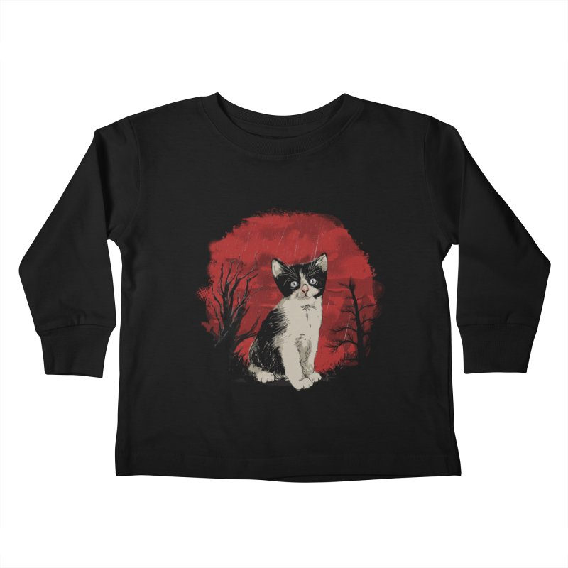 CATTY Kids Toddler Longsleeve T-Shirt by luwes's Artist Shop