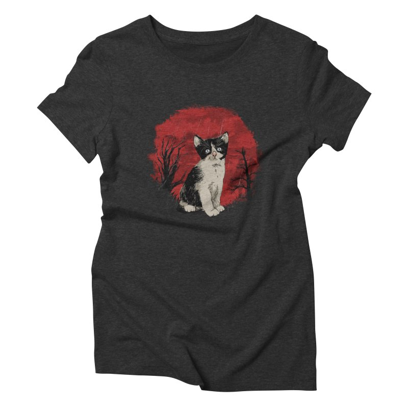 CATTY Women's Triblend T-Shirt by luwes's Artist Shop