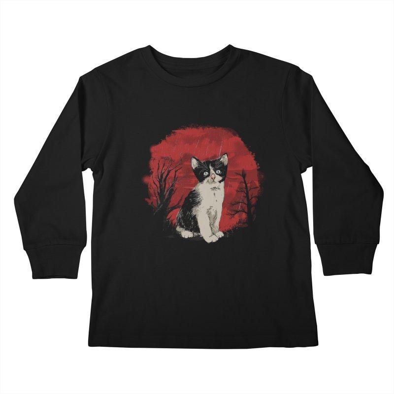 CATTY Kids Longsleeve T-Shirt by luwes's Artist Shop